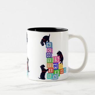 Scottie Blocks Mug