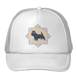 Scottie Blue FlipFlops Trucker Hat