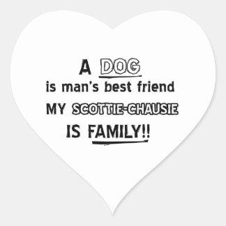 SCOTTIE-CHAUSIE Cat Designs Sticker