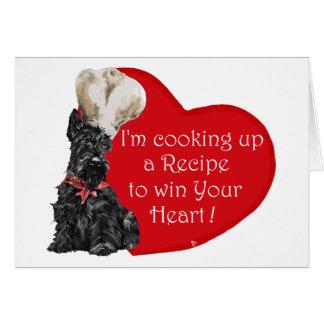 Scottie Chef  Valentine Card