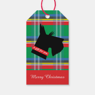 Scottie Christmas Gift Tags