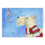 Scottie Christmas Magic Card