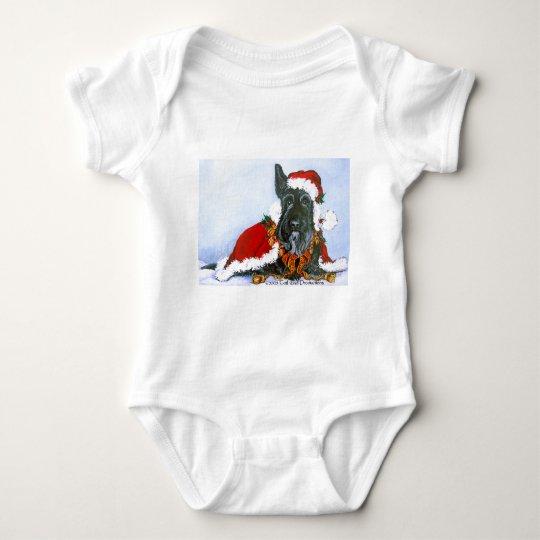 Scottie Claus! Baby Bodysuit