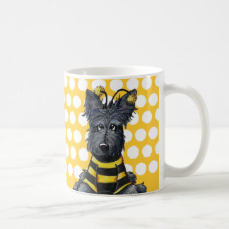 Scottie Dog Bee Coffee Mug