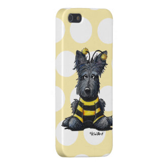 Scottie Dog Bee iPhone SE/5/5s Case