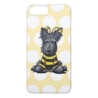 Scottie Dog Bee KiniArt iPhone 7 Plus Case