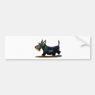 Scottie Dog Bumper Sticker