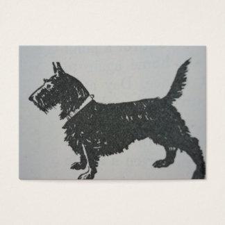 Scottie Dog Business Card