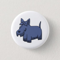 Scottie Dog Button