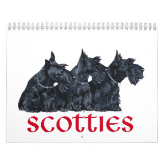 Scottie Dog Calendar