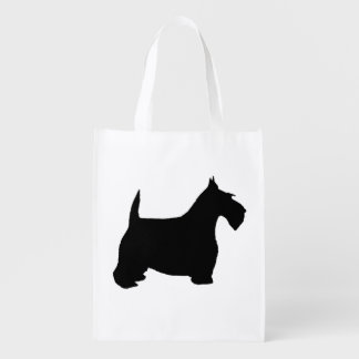 Scottie Dog Grocery Bags