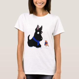 Scottie Dog & Robin T-Shirt