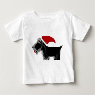 Scottie Dog Santa! Baby T-Shirt