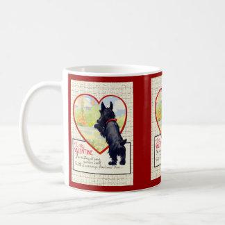 Scottie dog Valentine Scottish Terrier Mug