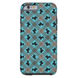Scottie Dog With Plaid iPhone 6 Case
