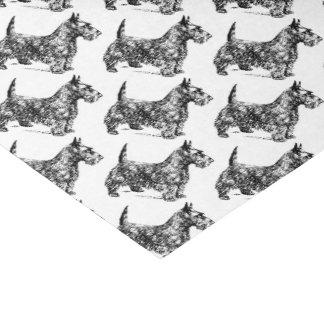 """Scottie Dogs 10"""" X 15"""" Tissue Paper"""