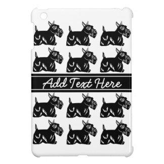 Scottie Dogs Black and White Custom iPad Case