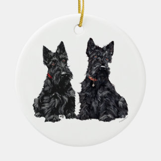 Scottie Dogs Ornament