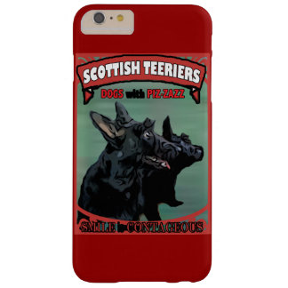 Scottie Dogs with Piz·zazz Barely There iPhone 6 Plus Case