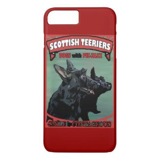 Scottie Dogs with Piz·zazz iPhone 7 Plus Case