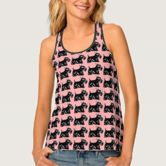 Scottie Dogs Women's All-Over Print Tank Top