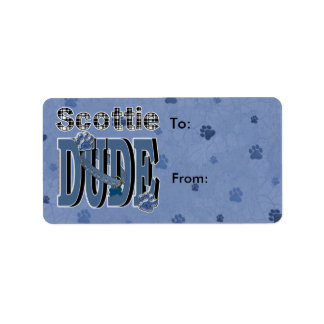Scottie DUDE Label