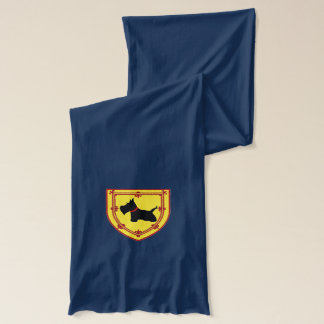 Scottie Emblem Scarf