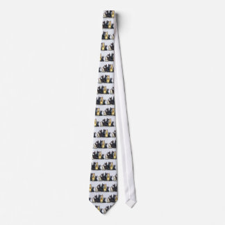 Scottie Five Neck Tie