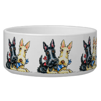 Scottie Gingham Cuties Bowl