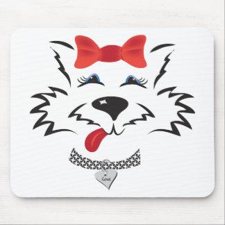 Scottie Girl Mousepad