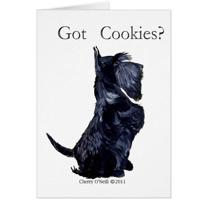 Scottie - Got Cookies? Card
