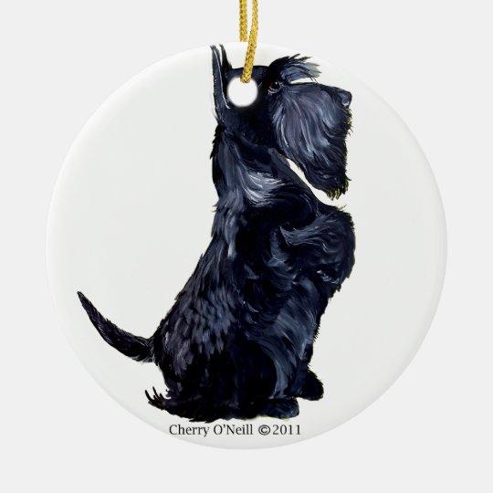 Scottie - Got Cookies? Ceramic Ornament