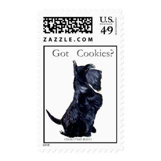 Scottie - Got Cookies? Stamps
