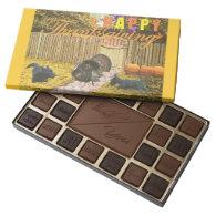 Scottie Happy Thanksgiving 45 Piece Box Of Chocolates