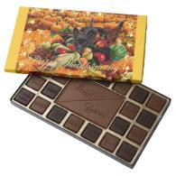 Scottie Happy Thanksgiving 45 Piece Assorted Chocolate Box