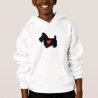Scottie Heart Hoodie T-Shirt