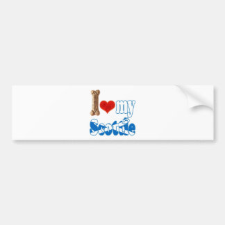 Scottie, I love my Scottie Bumper Sticker