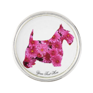 Scottie in Mums Personalize Pin