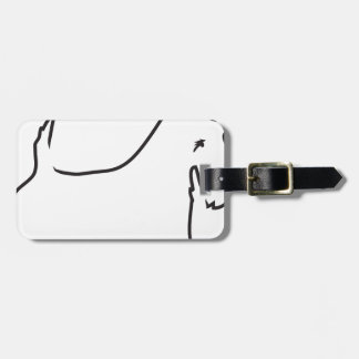 Scottie Lines Luggage Tags
