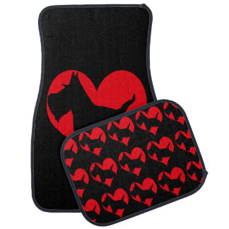 Scottie Love Car Mat
