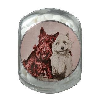 Scottie Love Glass Jars
