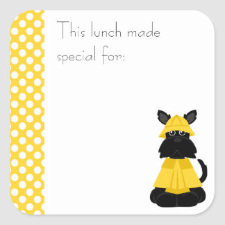 Scottie Lunch Sticker