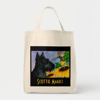 Scottie magic shopping bag