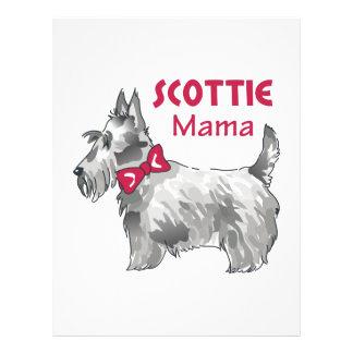 SCOTTIE MAMA PERSONALIZED LETTERHEAD