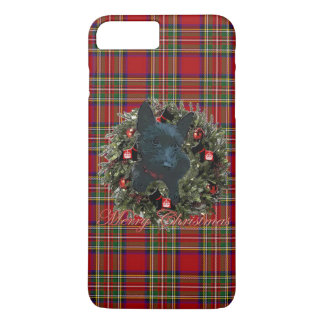 Scottie Merry Christmas iPhone 8 Plus/7 Plus Case