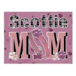 Scottie MOM Postcard