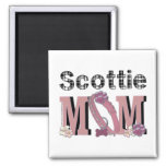 Scottie MOM Refrigerator Magnet