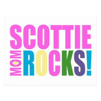 SCOTTIE MOM ROCKS! POSTCARD