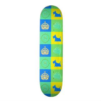 Scottie No. 15 Color Fun Skate Board