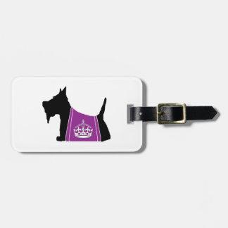 Scottie No. 15 Royal Crown Bag Tags